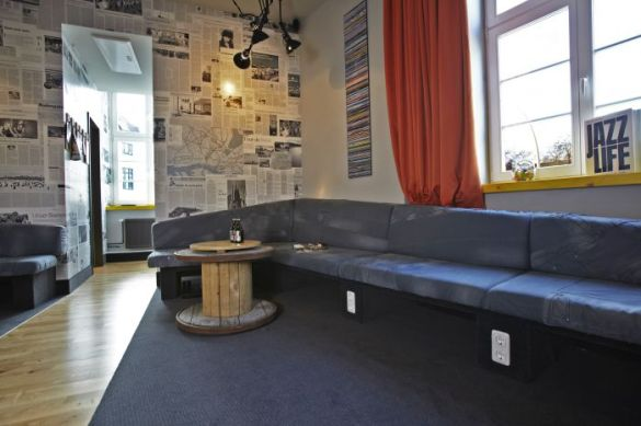 Hamburg's very cool hostel and hotel - best place to stay in town!