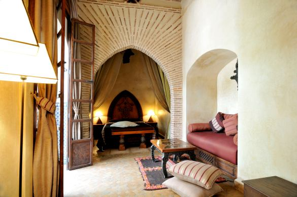 Beautiful hostel / riad in Morocco by award winning hostel chain