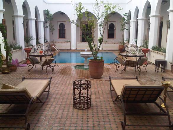Relax in this beautiful hostel / riad in Morocco