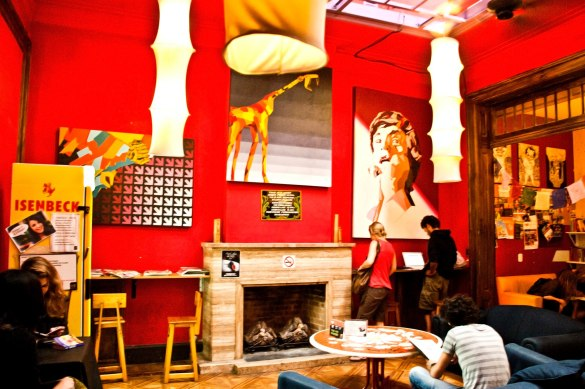 Funky and famous Argentine hostel