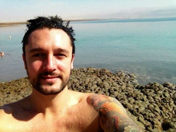 Dip in the Dead Sea
