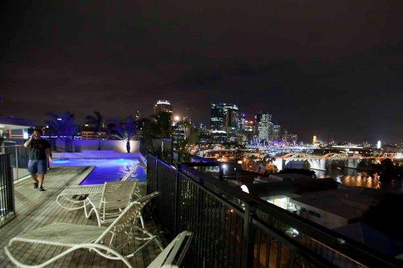 YHA Brisbane rooftop