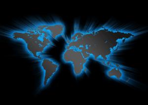 glowing-world-map
